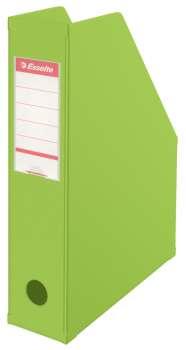 Stojan na časopisy Economy Esselte - 7 cm, zelený