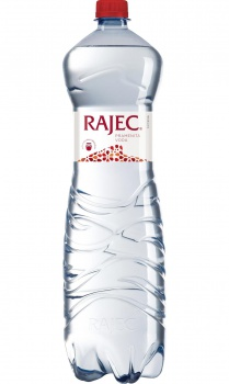 Pramenitá voda Rajec - perlivá, 1,5 l, 6 ks