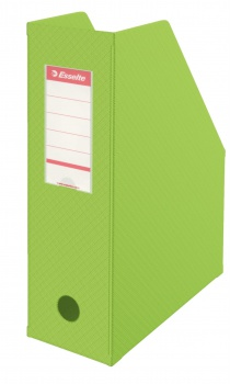 Stojan na časopisy Economy Esselte - 10 cm, zelená