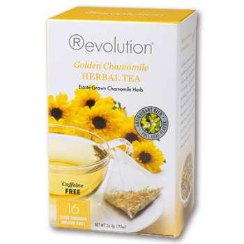 Čaj Revolution heřmánek (bez kofeinu), 16 x 1,65 g