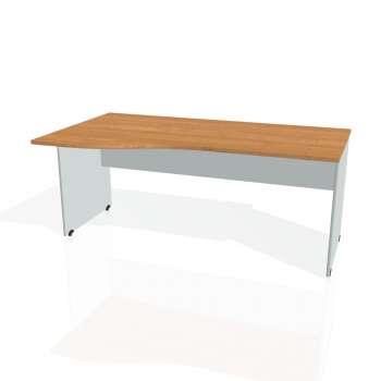 Psací stůl Hobis GATE GE 1000 pravý, olše/šedá