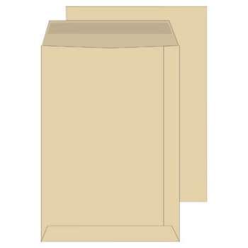 Tašky obchodní B4 Office Depot - samolepicí, hnědé, 250 ks
