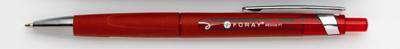 Kuličkové pero Foray, červené, 12 ks