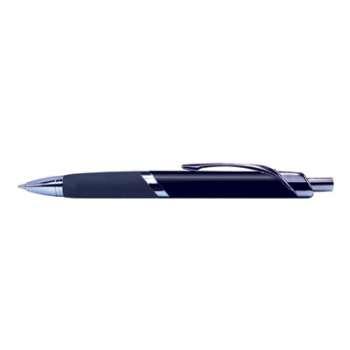 Kuličkové pero Foray Executive, stříbrné tělo a modrá náplň