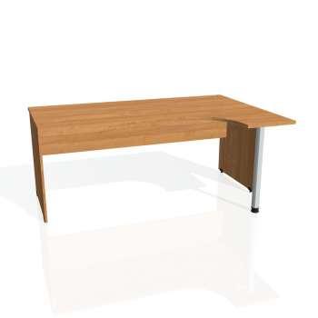 Psací stůl Hobis GATE GE 1800 levý, olše/olše