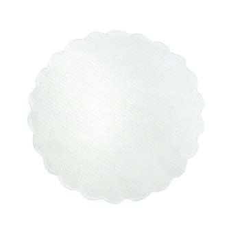 Rozetky - bílé, 1000 ks