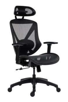 Kancelářská židle Scope - synchro, černá
