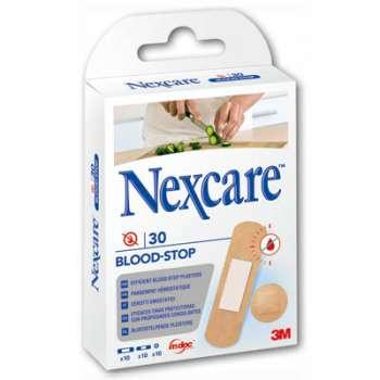 Náplasti k zastavení krvácení - Nexcare, 30 ks různých velikostí