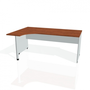 Psací stůl Hobis GATE GE 1800 pravý, calvados/šedá