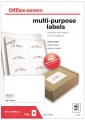 Samolepicí etikety - 105,0 x 70,0 mm, 800 etiket