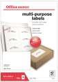 Samolepicí etikety - 105 x 70 mm, 800 etiket