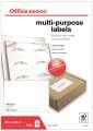 Samolepicí etikety - 105,0 x 74,0 mm, 800 etiket