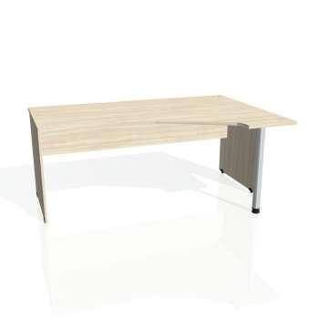 Psací stůl Hobis GATE GEV 1800 levý, akát/akát