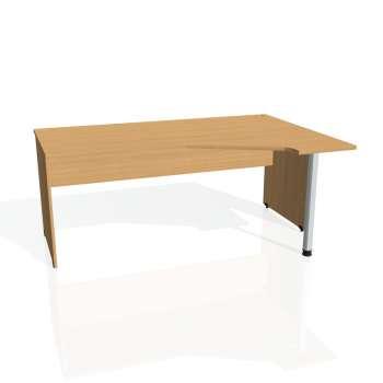 Psací stůl Hobis GATE GEV 1800 levý, buk/buk