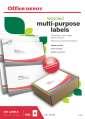 Samolepicí etikety recyklované - 210,0 x 148,0 mm, 200 ks