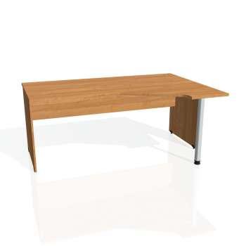 Psací stůl Hobis GATE GEV 1800 levý, olše/olše