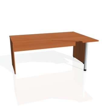 Psací stůl Hobis GATE GEV 1800 levý, třešeň/třešeň