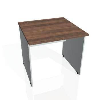 Psací stůl Hobis GATE GS 800, ořech/šedá