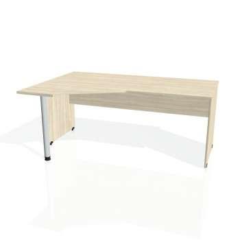 Psací stůl Hobis GATE GEV 1800 pravý, akát/akát