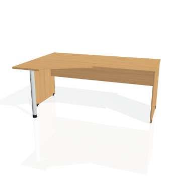 Psací stůl Hobis GATE GEV 1800 pravý, buk/buk