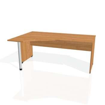 Psací stůl Hobis GATE GEV 1800 pravý, olše/olše