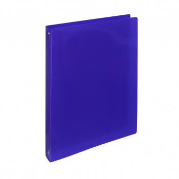 Čtyřkroužkový pořadač ELECTRA - A4, plastový, hřbet 2,0 cm, tmavě modrý