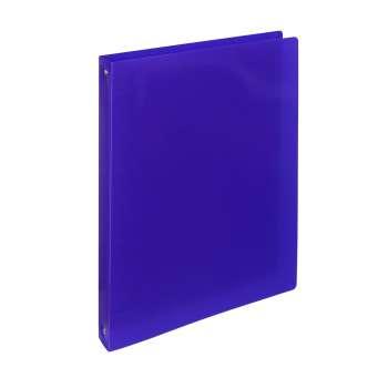 Čtyřkroužkový pořadač ELECTRA - A4, plastový, hřbet 3,2 cm, tmavě modrá