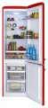 Chladnička Amica KGCR 387100 R - červená