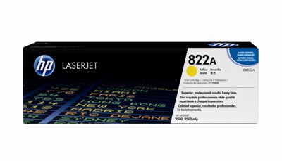 Toner HP C8552A - žlutá