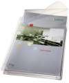Euroobaly U s rozšířenou kapacitou a chlopní Leitz - A4, hladké, 170 mic, 5 ks