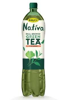Ledový čaj Nativa - zelený s ginkgo, 6x 1,5 l