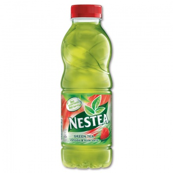 Čaj ledový Nestea - zelený s aloe vera, 12 x 0,5 l