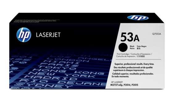 Toner HP Q7553A/53A - černý