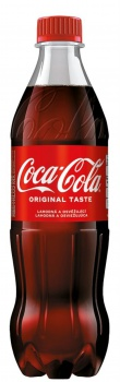 Coca Cola - 12x 0,5 l, plast
