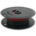 Barvicí páska do psacího stroje DIN 1, 13 mm x 10 m - černá/červená