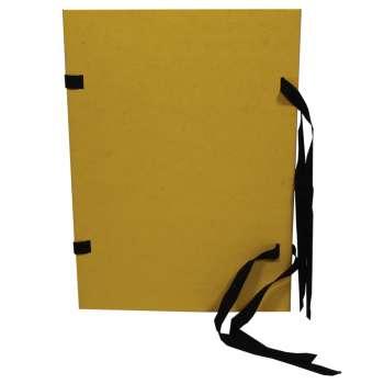 Desky prešpánové spisové A4, žluté