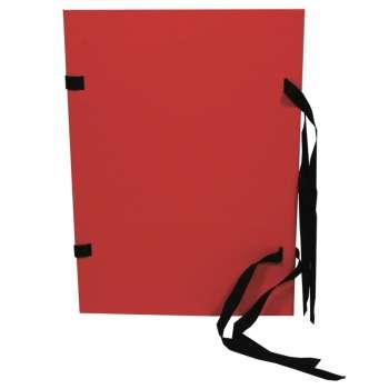 Desky prešpánové spisové A4, červené
