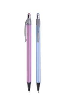 Kuličkové pero Spoko Stripes - modrá náplň, 0,3 mm