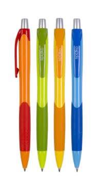 Kuličkové pero Fruity - modrá náplň, 0,5 mm