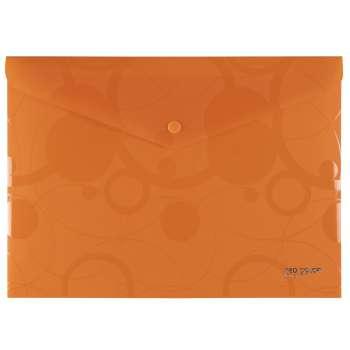 Spisové desky s drukem NEO COLORI - A4, oranžová