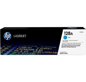Toner HP CE321A/128A - azurová