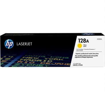 Toner HP CE322A/128A - žlutý