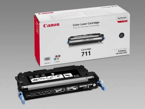 Toner Canon CRG-711BK - černá