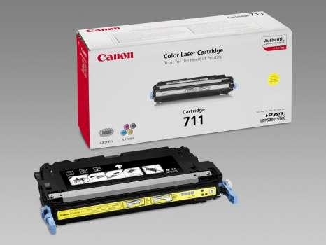 Toner Canon CRG-711Y - žlutý