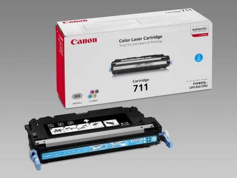 Toner Canon CRG-711C - azurový