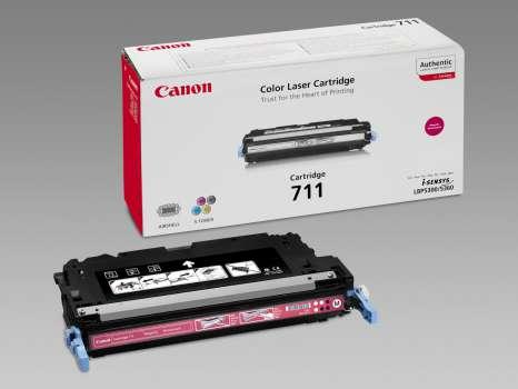 Toner Canon CRG-711M - purpurový