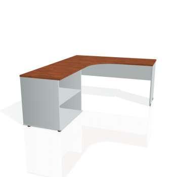 Psací stůl Hobis GATE GE 60 H pravý, calvados/šedá