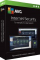 AVG Internet Security, 1 licence (12 měs.) ESD