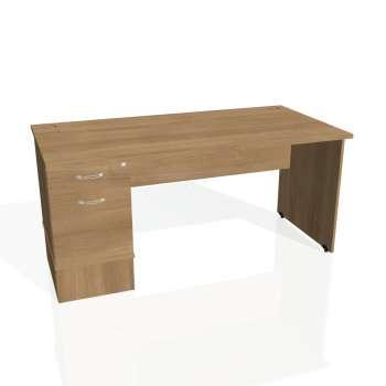 Psací stůl Hobis GATE GSK 1600 22, višeň/višeň