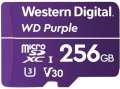WD Micro SDXC Purple 256GB 100 MB/s UHS-I U3